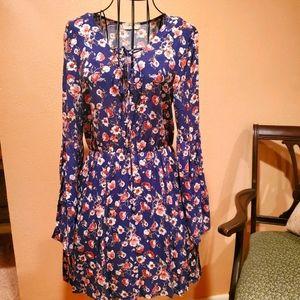 Womans freebird floral dress